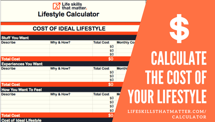 Lifestyle Calculator | Life Skills That Matter