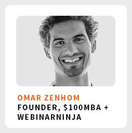 Omar Zenhom $100 MBA