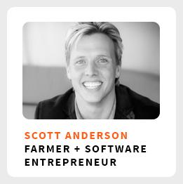 Cash Cow Farmer Scott Andserson