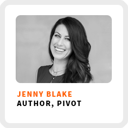How to pivot your career with Jenny-Blake