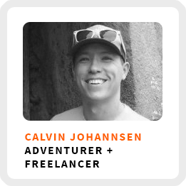 Learn about yourself with Calvin Johannsen of 100+ Mountains