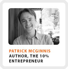 10% Entrepreneur Patrick McGinnis