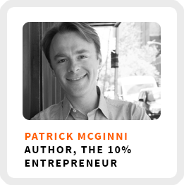 How to Transition Into Entrepreneurship With Patrick McGinnis (127)