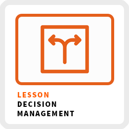 Lesson-Manage-Your-Decisions