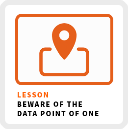 Lesson-Beware-Of-The-Data-Point-Of-One