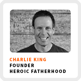 Be A More Intentional Entrepreneur and Parent With Charlie King (244)