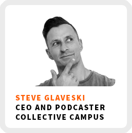 Develop Yourself To Develop Your Business With Steve Glaveski (262)