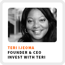 Teri-Ijeoma hopes that you can break out of your comfort zone