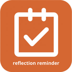reflection reminder