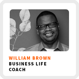 show up in your work as yourself with William-Brown